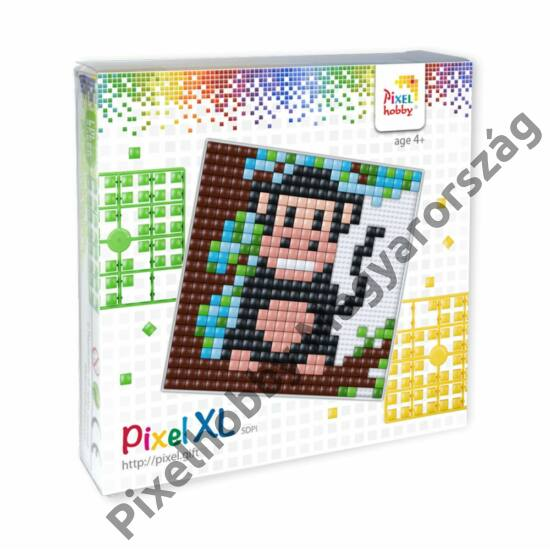 Pixel XL szett - Majom (12x 12 cm)