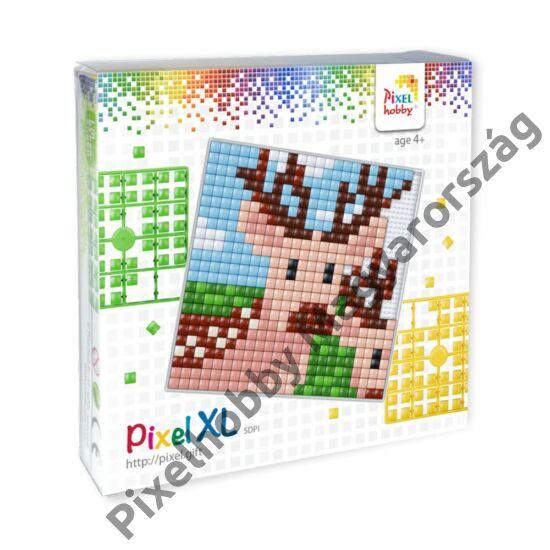 Pixel XL szett - Szarvas (12x 12 cm)