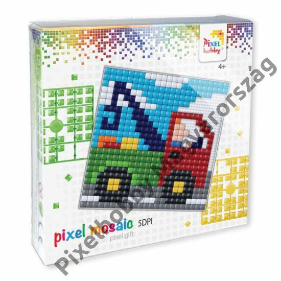 Pixel XL szett - Teherautó (12x 12 cm)