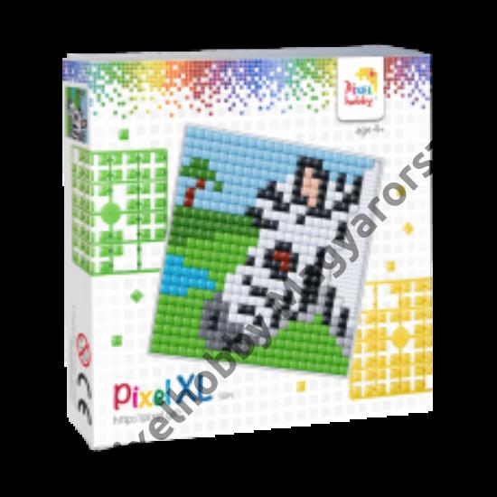 Pixel XL szett - Zebra (12x 12 cm)