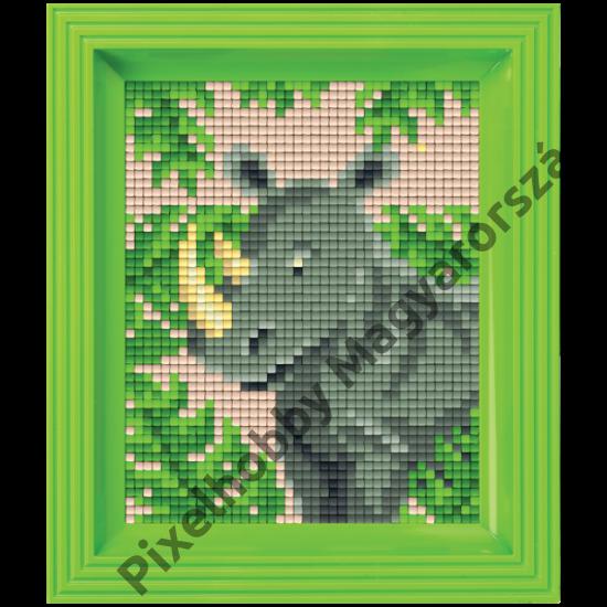 Pixel készlet - ORRSZARVÚ (dzsungel)