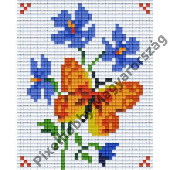 Sárga pillangó (10,1x12,7cm)