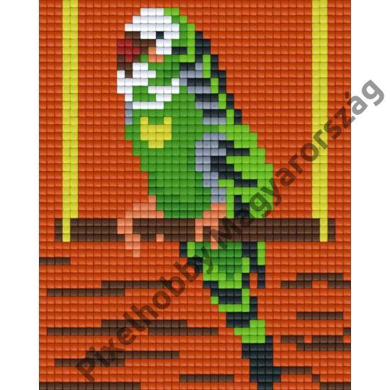 Papagáj (10,1x12,7cm)