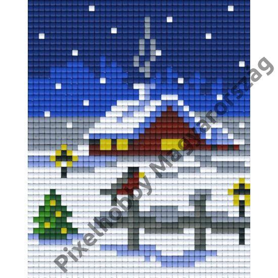 Otthon karácsonykor (10,1x12,7cm)