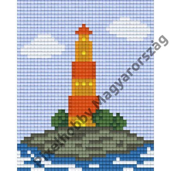 Világító torony 3 (10,1x12,7cm)