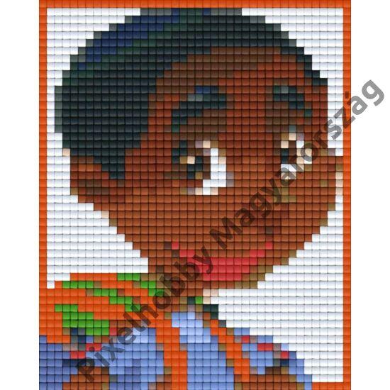 Néger fiú (10,1x12,7cm)