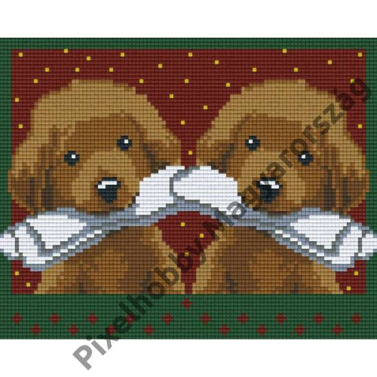 Két kutya 2 (25,4x20,3cm)