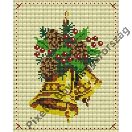 Karácsonyi csengettyű (20,3x25,4cm)